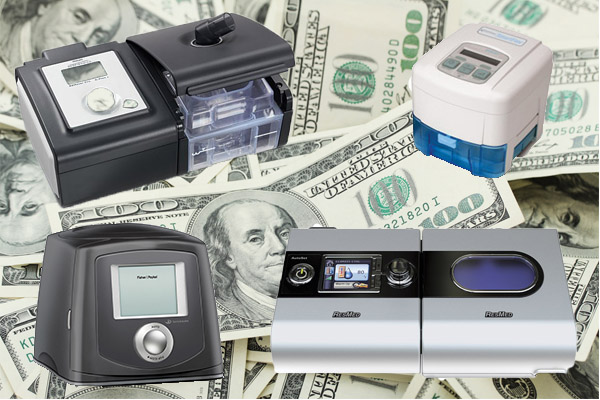 cost for cpap machine