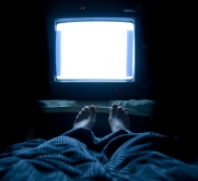 Your TV's blue light will affect your quality of sleep.