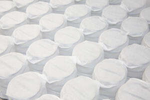 Adjustable firmness Mattresses have foam layers and air compartments.