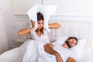 Is your partner sleeping as well as you?