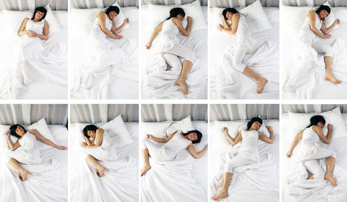 Which sleep position is best for you?