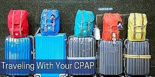 Traveling CPAP Machines are small and easy to take anywhere you go.