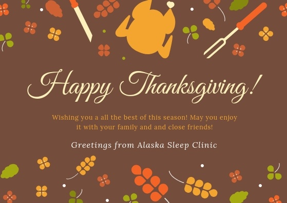 Illustrated Thanksgiving Greeting card