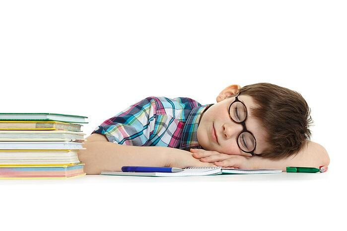 Without the proper amount of sleep, school performance suffers.
