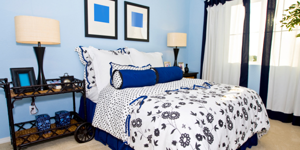 Can your bedroom's color affect your sleep quality?