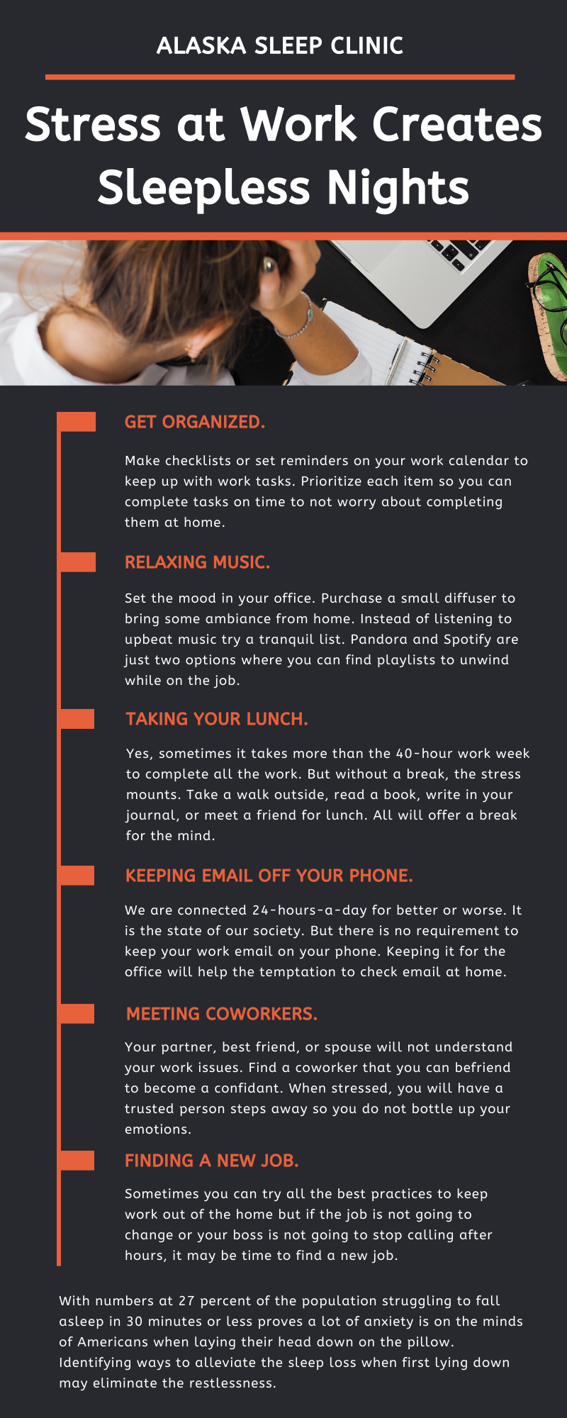 Work Stress Infographic