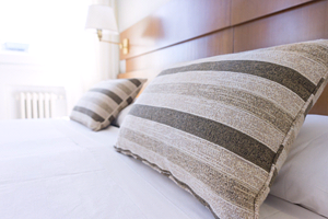 Creating a comfortable bedroom is key to good sleep.