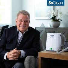William Shatner and SoClean