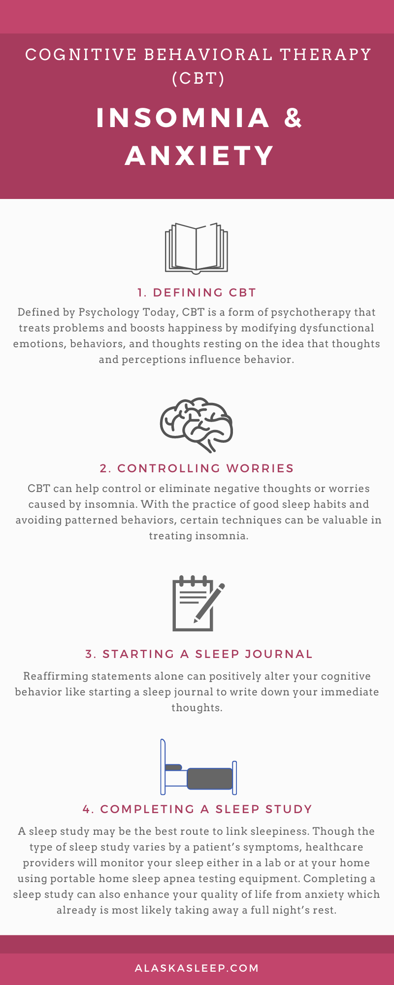 CBT Therapy for Insomnia and Anxiety