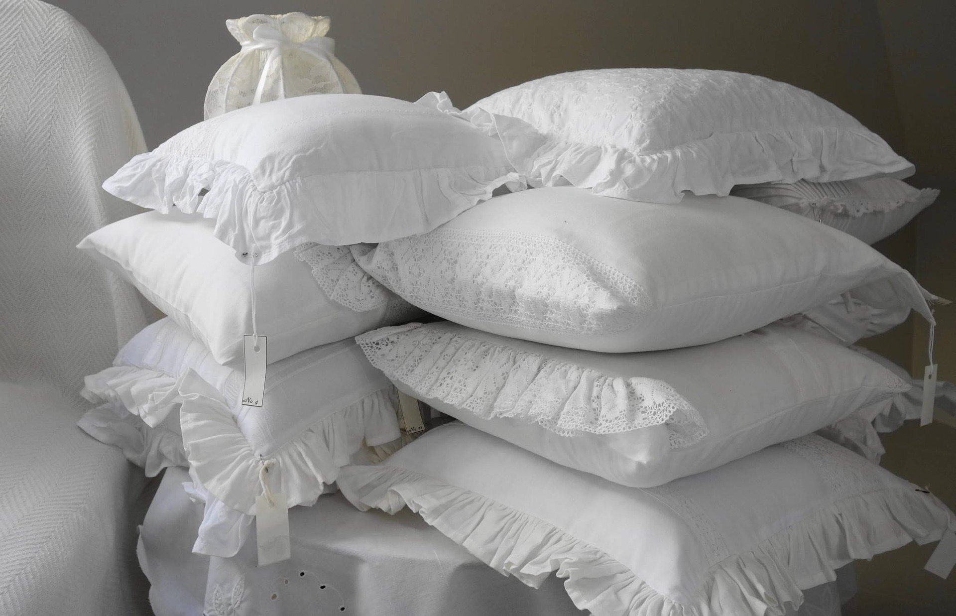 Make sure the pillow case you choose is made from a breathable fabric.