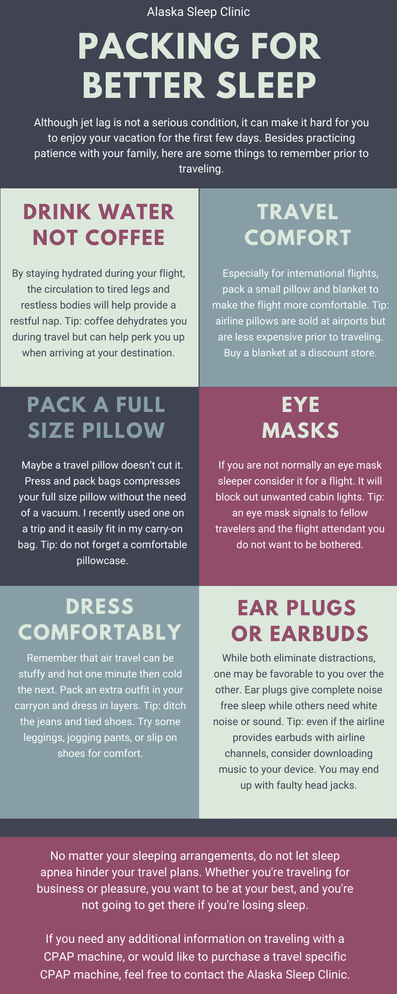 Packing for Better Sleep